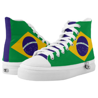 Brazilian Flag High Tops
