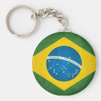 Brazilian Flag Keychain