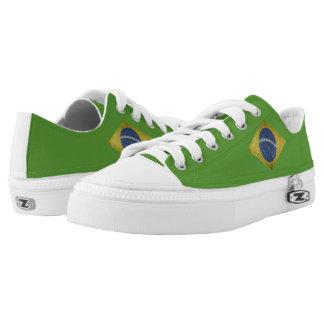 Brazilian flag Low-Top sneakers
