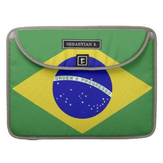Brazilian Flag MacBook Pro Sleeves