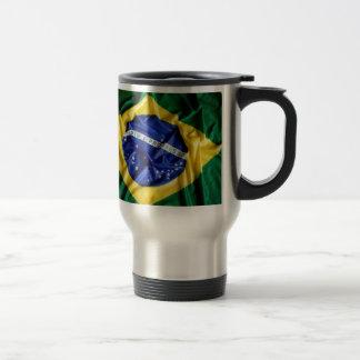 Brazilian flag mug
