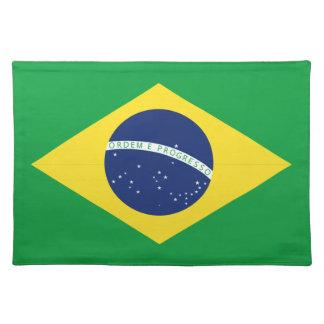 Brazilian flag placemat
