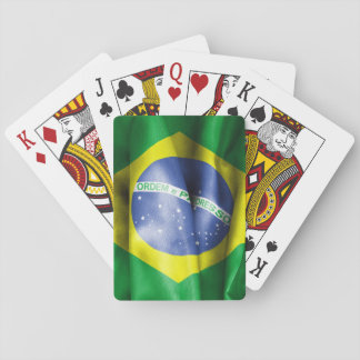 Brazilian Flag Poker Deck