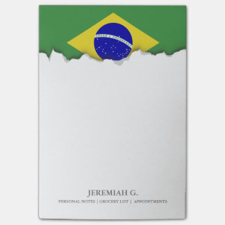 Brazilian Flag Post-it® Notes