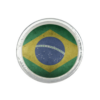 Brazilian flag ring