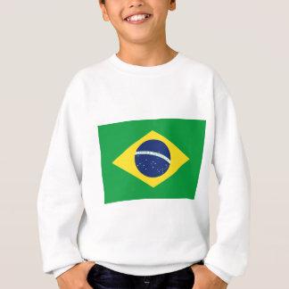 Brazilian flag sweatshirt