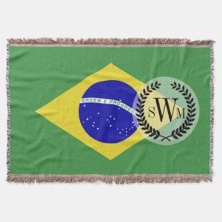 Brazilian Flag Throw