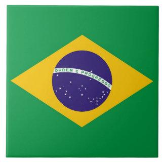 Brazilian Flag Tile