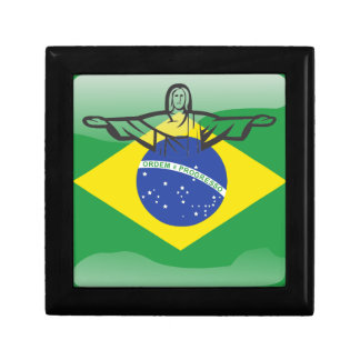 Brazilian glossy flag gift boxes