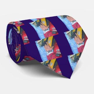Brazilian Hero - Artwork JL Glineur Tie