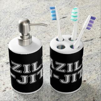 Brazilian Jiu Jitsu Bathroom Set