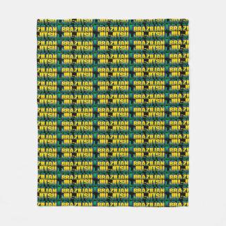 Brazilian Jiu-Jitsu Fleece Blanket