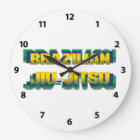 Brazilian Jiu-Jitsu Large Clock