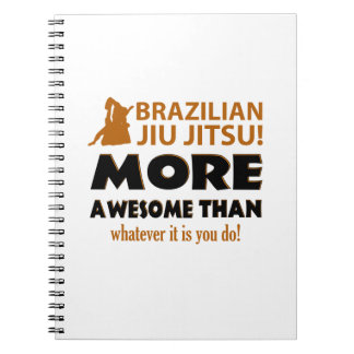 BRAZILIAN JIU JITSU NOTE BOOK