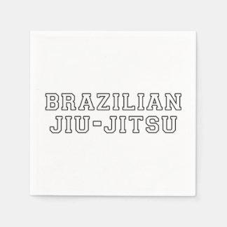 Brazilian Jiu Jitsu Paper Napkins