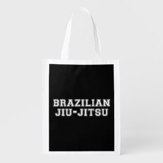 Brazilian Jiu Jitsu Reusable Grocery Bag