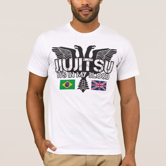 Brazilian Jiu Jitsu UK  T-shirt