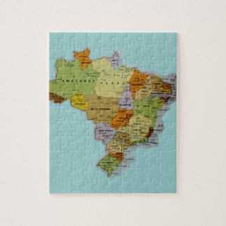 Brazilian Map Jigsaw Puzzle