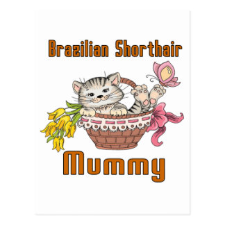 Brazilian Shorthair Cat Mom Postcard