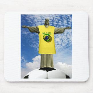 Brazilian Soccer Brazil Rio de Janeiro Mouse Pad