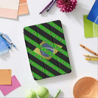 Brazilian stripes flag iPad air cover