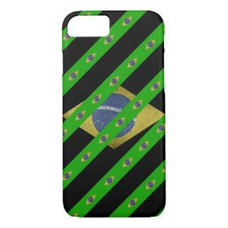 Brazilian stripes flag iPhone 8/7 case