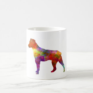 Brazilian Terrier in watercolor Coffee Mug