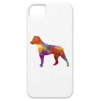 Brazilian Terrier in watercolor iPhone 5 Cases