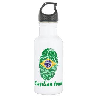Brazilian touch fingerprint flag