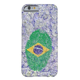 Brazilian touch fingerprint flag barely there iPhone 6 case