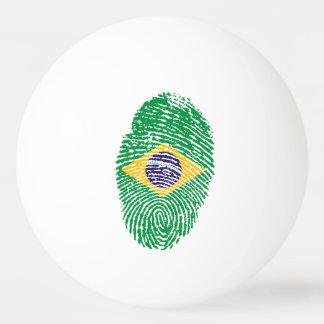 Brazilian touch fingerprint flag ping pong ball