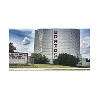 Brazos Drive In Canvas