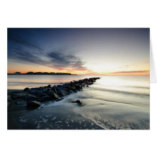Breach Inlet Sunrise Revisited Card