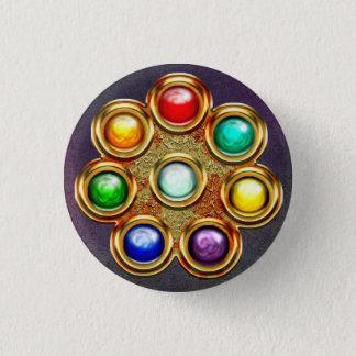 Breach Sphere Badge 1 Inch Round Button