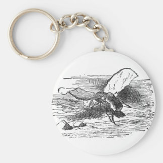 Bread and Butter Fly Keychain
