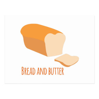 Bread And Butter Postcard