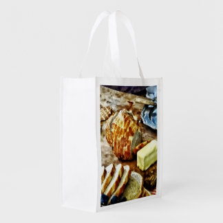 Bread and Butter Reusable Grocery Bag