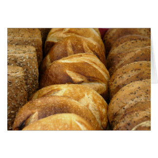 Bread at the Schenectady Green Market Note Card