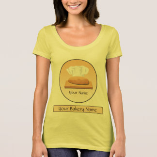 Bread Bakery Chef Baker Ladies American Appparel T-Shirt