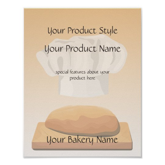 Bread Bakery Product Sign
