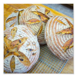 Bread - bright.  Who doesn't like homemade bread? Photo Print