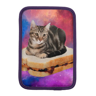 bread cat  - space cat - cats in space iPad mini sleeve