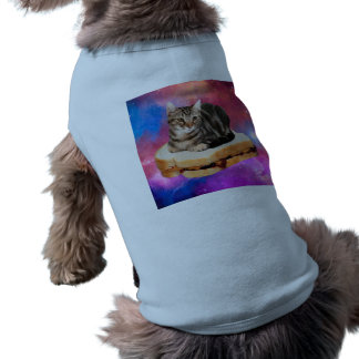 bread cat  - space cat - cats in space shirt