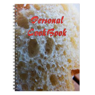 Bread Cookbook Notebooks