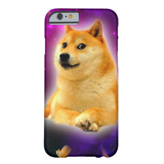 bread  - doge - shibe - space - wow doge barely there iPhone 6 case