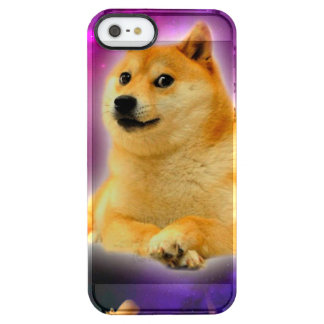 bread  - doge - shibe - space - wow doge clear iPhone SE/5/5s case