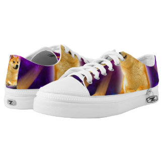 bread  - doge - shibe - space - wow doge Low-Top sneakers
