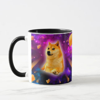 bread  - doge - shibe - space - wow doge mug