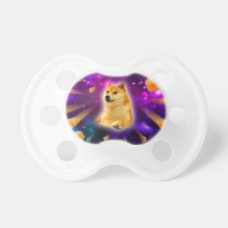 bread  - doge - shibe - space - wow doge pacifier