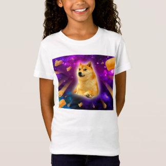 bread  - doge - shibe - space - wow doge T-Shirt